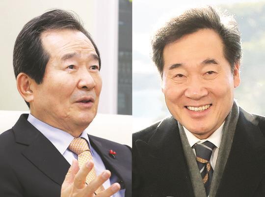 전·현직 총리, 호남 '쌍끌이'
